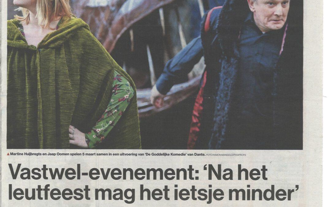 Vastwel in BN De Stem en Weekblad Oosterhout